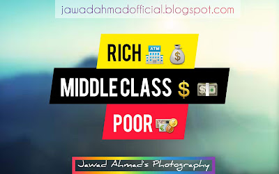 A Conceptual Difference Between Rich, Middle Class and Poor
