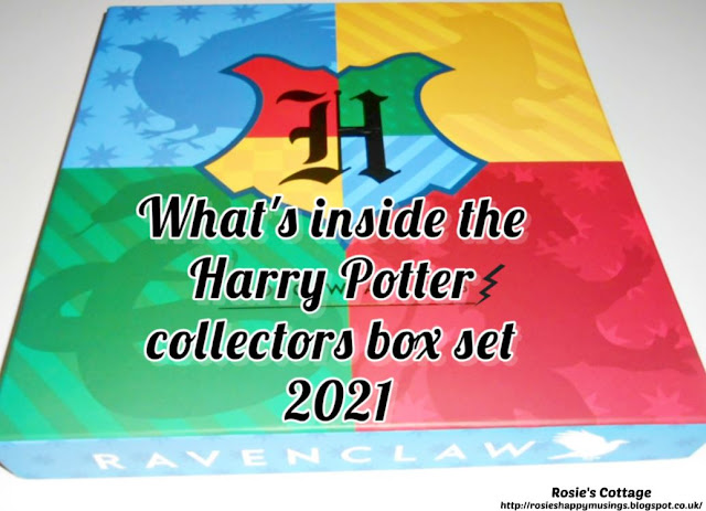 What's inside the Harry Potter Collectors Edition Box Set