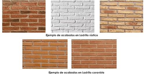 Tipos de ladrillos para dormitorios con paredes de - Tipos de ladrillo ...