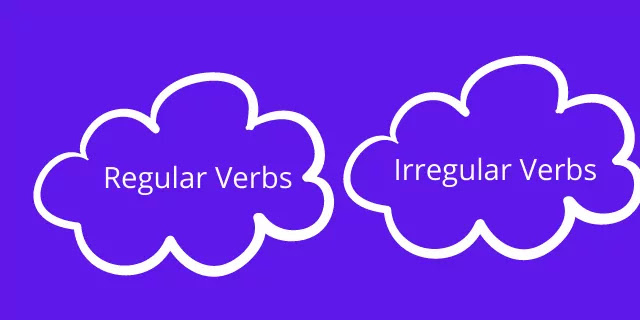 What Are the Regular And Irregular Verbs