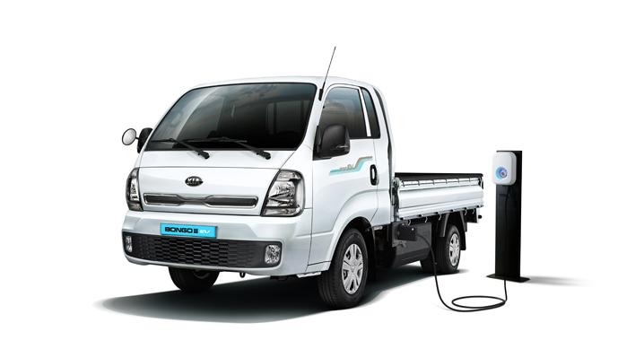 기아자동차, 친환경 전기 트럭 '봉고3 EV' 출시