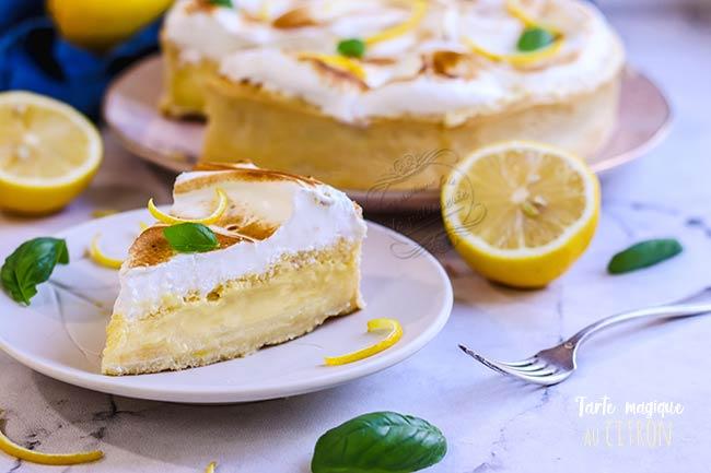 recette tarte magique teleshopping