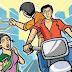 सड़कों पर बाइक सवार लुटेरों का राज, दो महिलाओं की चेन और छात्रा का मोबाइल लूटा