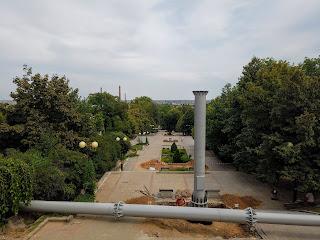 Мелитополь. Реконструкция лестницы