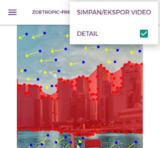 simpan ekspor video
