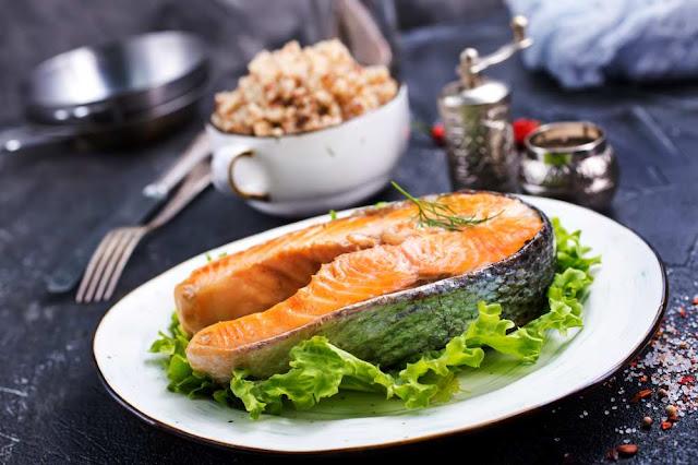 pescado salmon alimento nutritivo