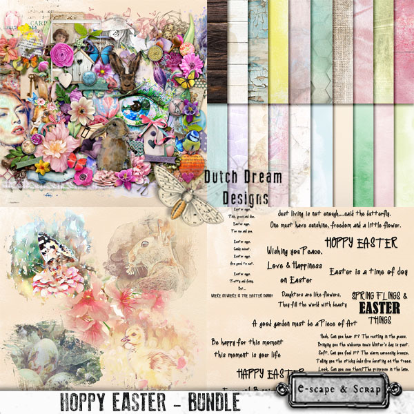 DUTCH DREAM DESIGNS  HOPPY EASTER