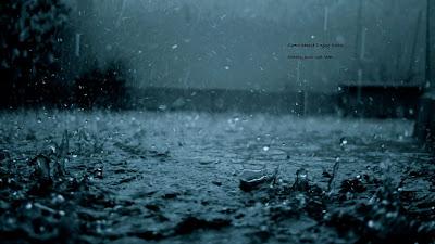 Banyak makna saat hujan turun