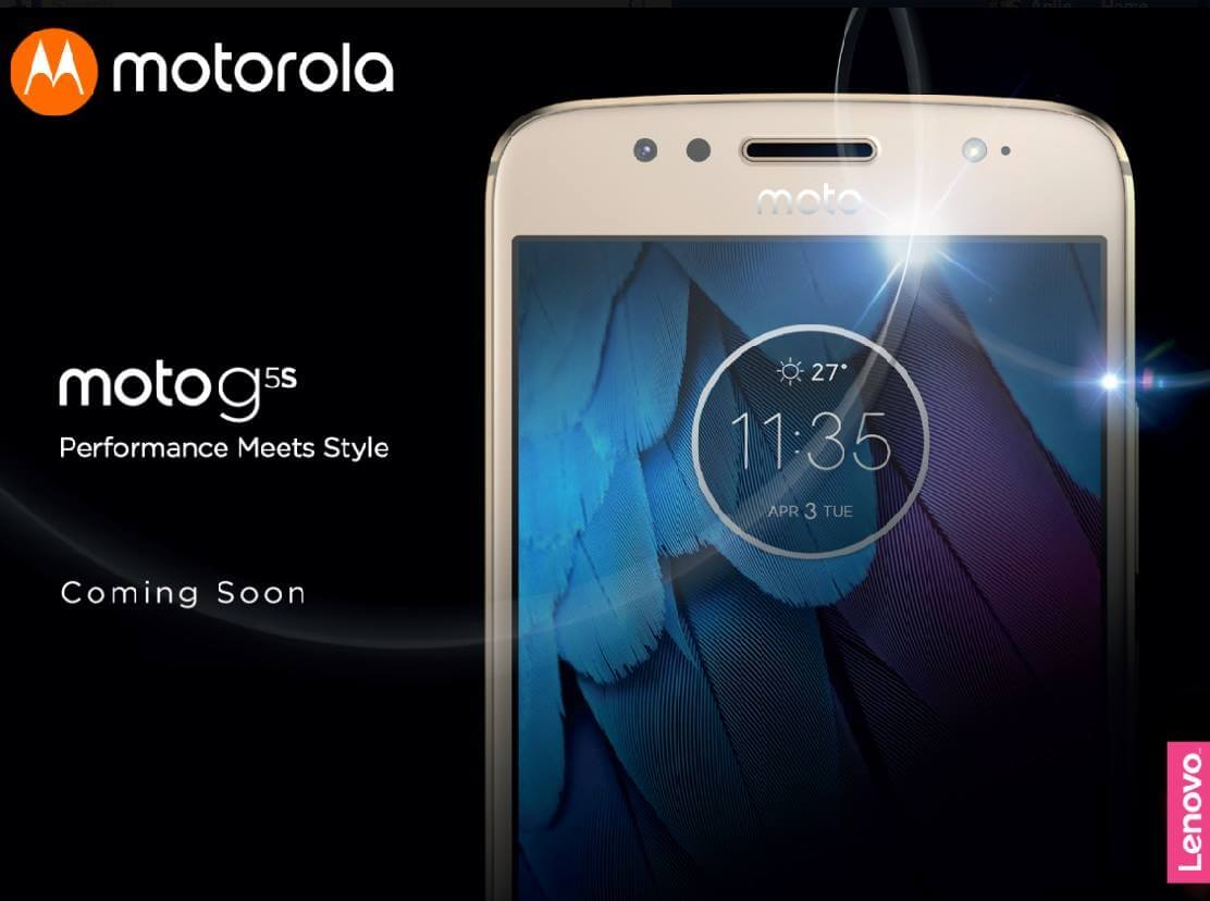 Motorola Moto G5 Series Coming to Philippines this October 10