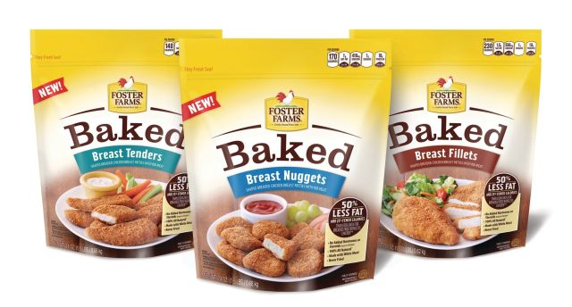 Foster Farms Rolls Out New Baked Chicken Nuggets Tenders And Fillets