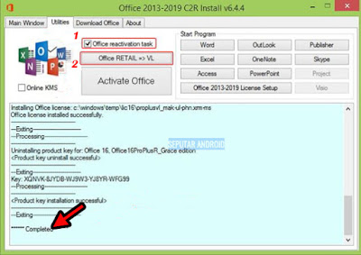 √ 4 Cara Aktivasi Microsoft Office 2016 Terbaru Tested Dengan Software Tanpa Product Key