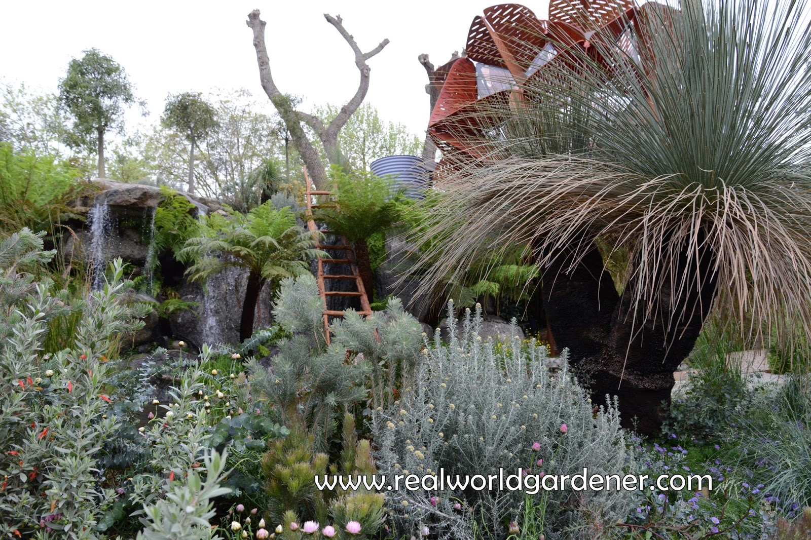 Real world gardener australian garden idea in garden for Garden design podcast