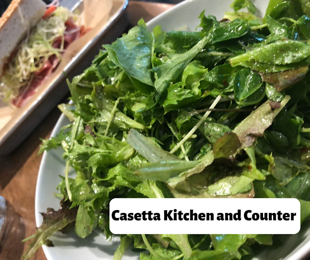 Lunch Brunch at Casetta Kitchen and Counter in Madison, Wisconsin