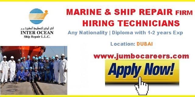 Marine & Shipping Jobs in DUbai