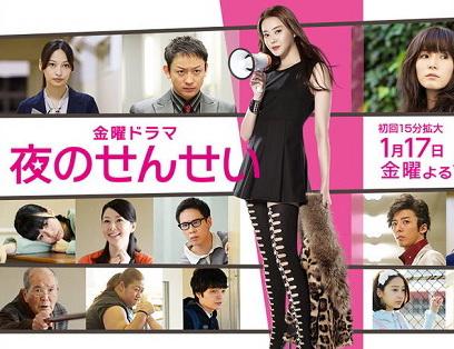 [ドラマ] 夜のせんせい (2014)