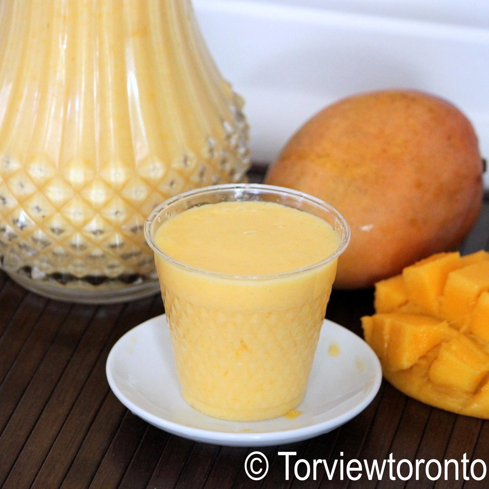 Torviewtoronto: Mango milkshake