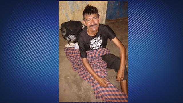 Homem pede ajuda para voltar para Chaval e reencontrar família