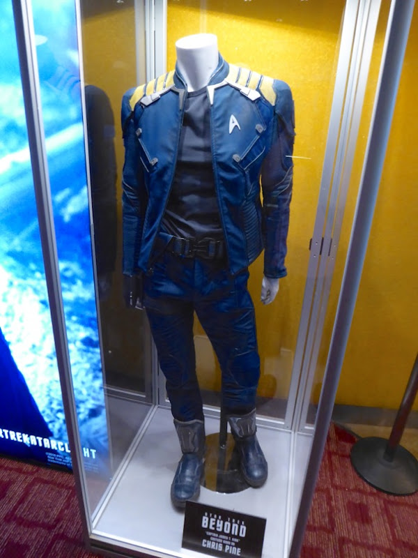 Chris Pine Captain Kirk costume Star Trek Beyond