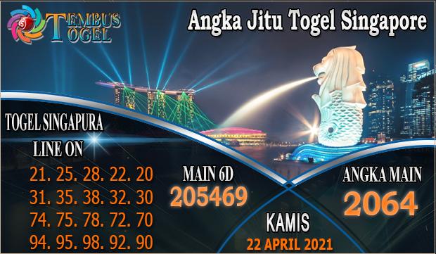 Angka Jitu Togel Singapore - Kamis Tanggal 22 April 2021