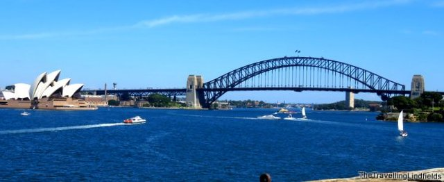 The Sydney Harbour Bridge and the Sydney Opera House