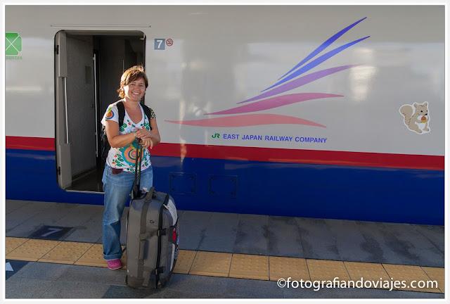 estación de tren en Japón