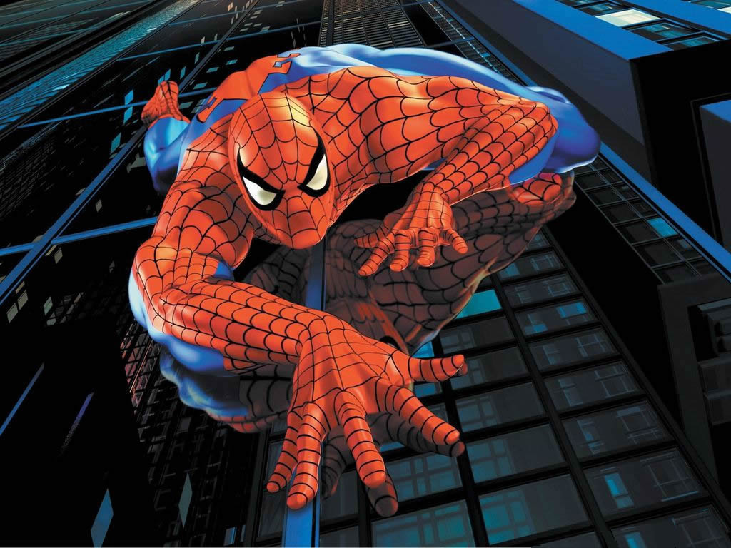Spider Man Cartoons Wallpapers