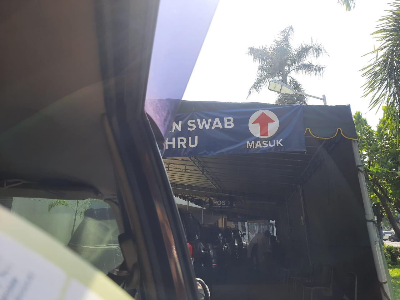 swab test covid drive thru surabaya, swab test drive thru surabaya