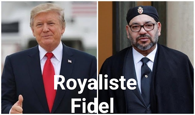 ترامب يوجه رسالة خاصة إلى الملك محمد السادس: يسعدني العمل إلى جانبكم بصفتكم رائدا إفريقيا وعربيا !