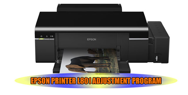 EPSON L801 PRINTER ADJUSTMENT PROGRAM