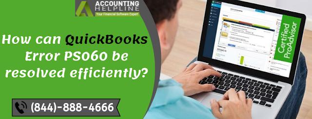 QuickBooks Error PS060