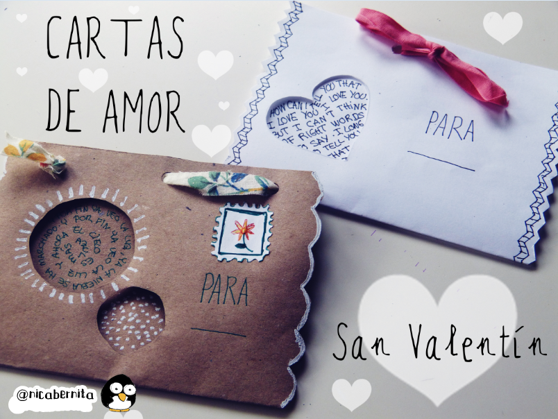 Cartas Sobres O Tarjetas Para Regalar En San Valentin