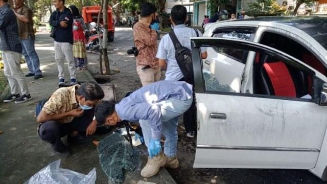 Maling Pecahkan Kaca Mobil Parkir di Lotim,  Uang 45 Juta Raib Dalam Sekejap