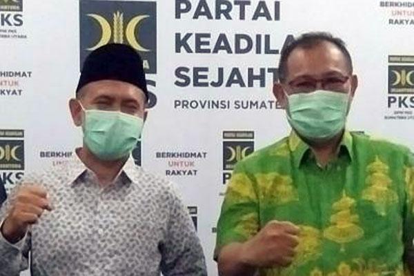 Dipecat PDIP, Akhyar Jadi Jagoan PKS Lawan Mantu Jokowi di Pilkada Medan
