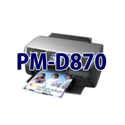 Epson Colorio PM-D870ドライバーのダウンロード