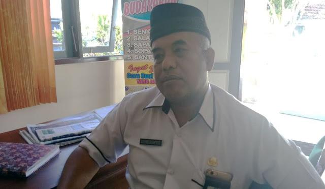 Kepala Cabang Dinas Pendidikan Jawa Timur Wilayah Lumajang, Drs. H. Sugiono Eksantoso, MM