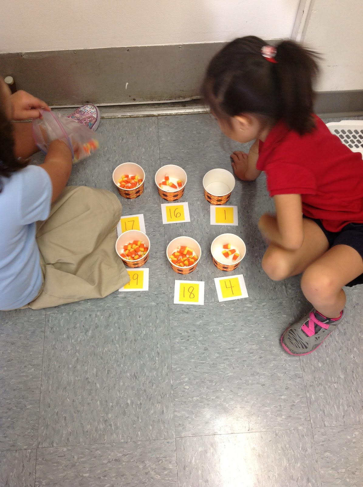 A Day In The Life Of A Kindergartner Candy Corn Week
