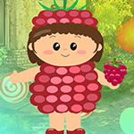 Games4King Strawberry Girl Escape Walkthrough