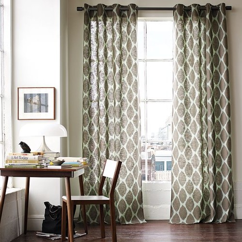 patterned drapes in living room 2014 new modern living room curtain designs ideas 20740
