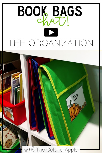 Take Home Book Bags - The Organization - The Colorful Apple