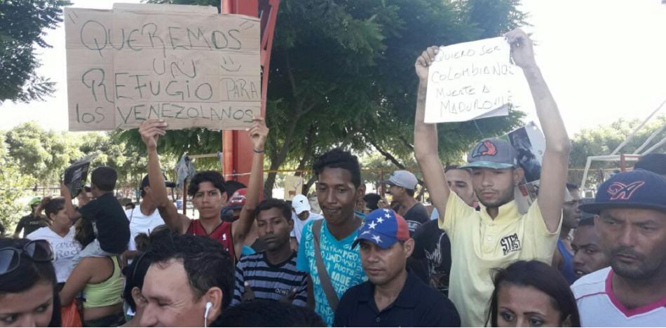Unos 4 millones de venezolanos salieron de su país en cuatro