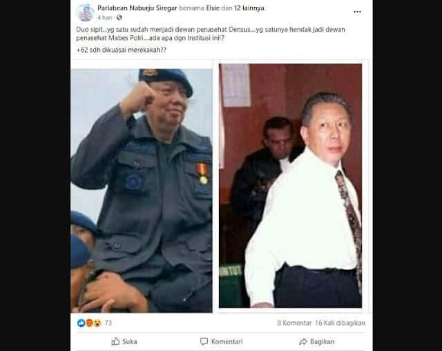 Cek Fakta: Dato Sri Tahir Jadi Dewan Penasihat Densus 88 dan Djoko Chandra Konsultan Polri
