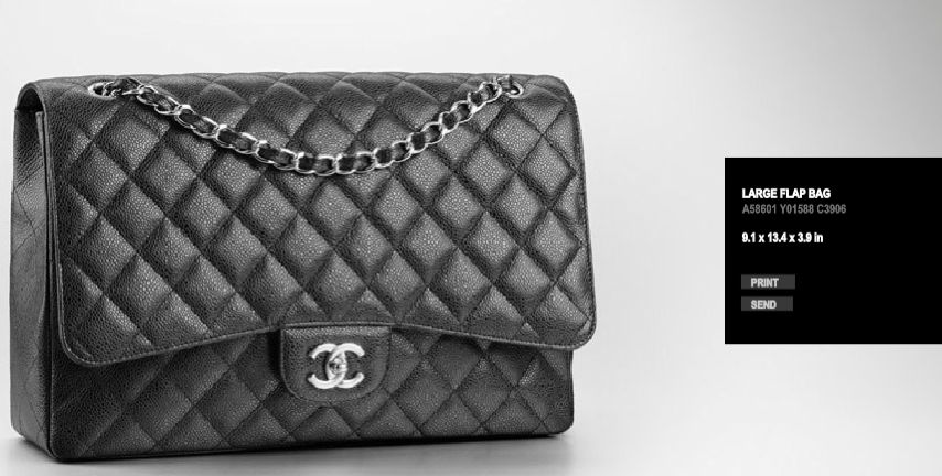 5d29728bbd2cbc Chanel News: Classic Flap Maxi Caviar/Lambskin