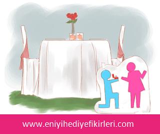 Klasik evlenme teklifi