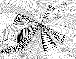 abstract drawings drawing simple examples lines line pattern easy draw designs complex fill views