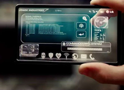 The transparent phone