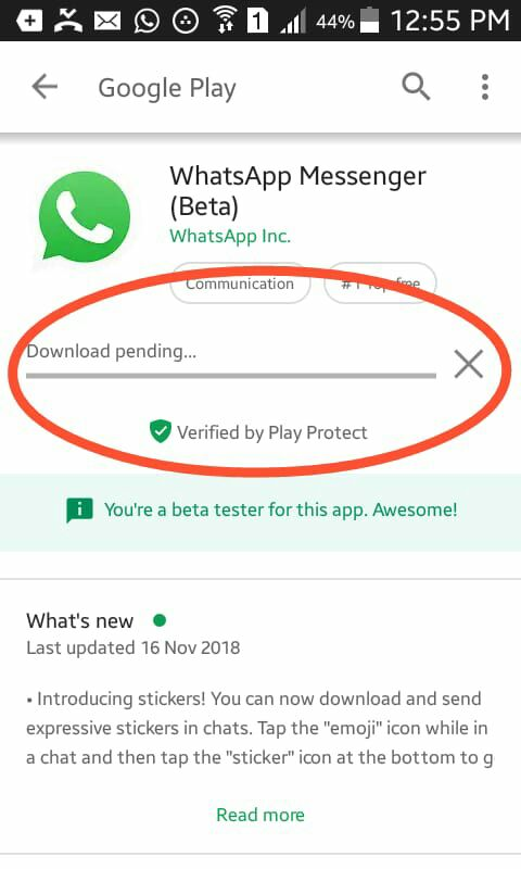 Playstore Showing 'Download Pending' Error - techPK - THE WORLD