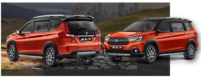 Sisi Eksterior Suzuki XL7 2020