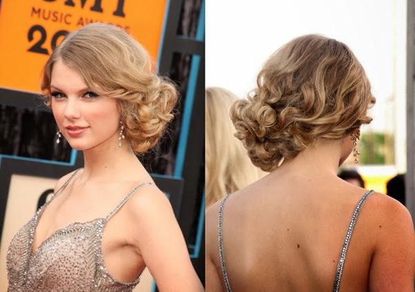 Top 10 Gaya rambut Keriting Panjang ala selebritis
