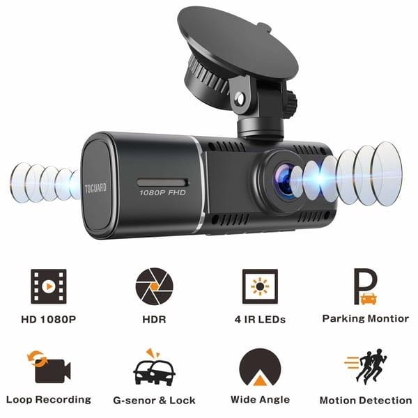 TOGUARD CE41 Night Vision Dual Dash Cam