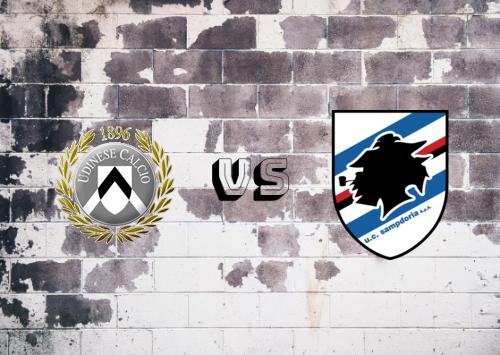 Udinese vs Sampdoria  Resumen